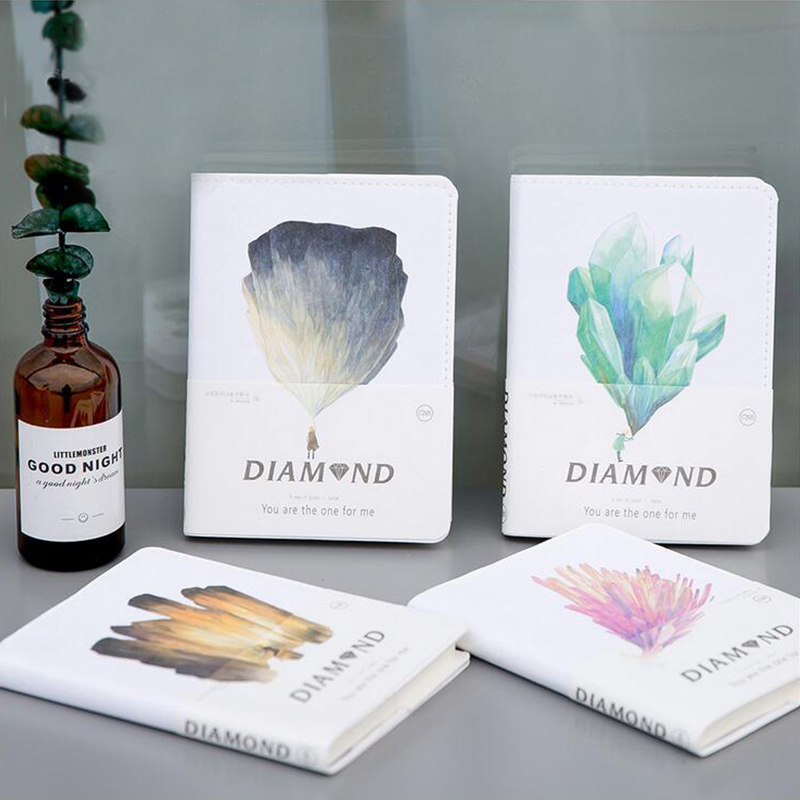 A6 kawaii notebook beautiful patinting writing pads sketchbook diary notepad school office supplies women kid gift