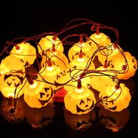 16pcs Halloween Decoration Pumpkin Light Hanging Paper Lantern Lamp Outdoor Party Supplies 03
