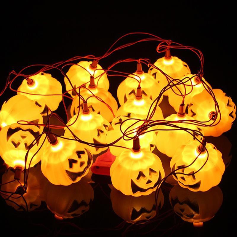 16pcs halloween decoration pumpkin light hanging paper lantern lamp outdoor party supplies 03china - Outdoor Party Supplies