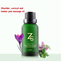 1bottle Shoulder cervical vertebra waist ache massage essence oil 30ml meridians and collaterals scraping essential oil
