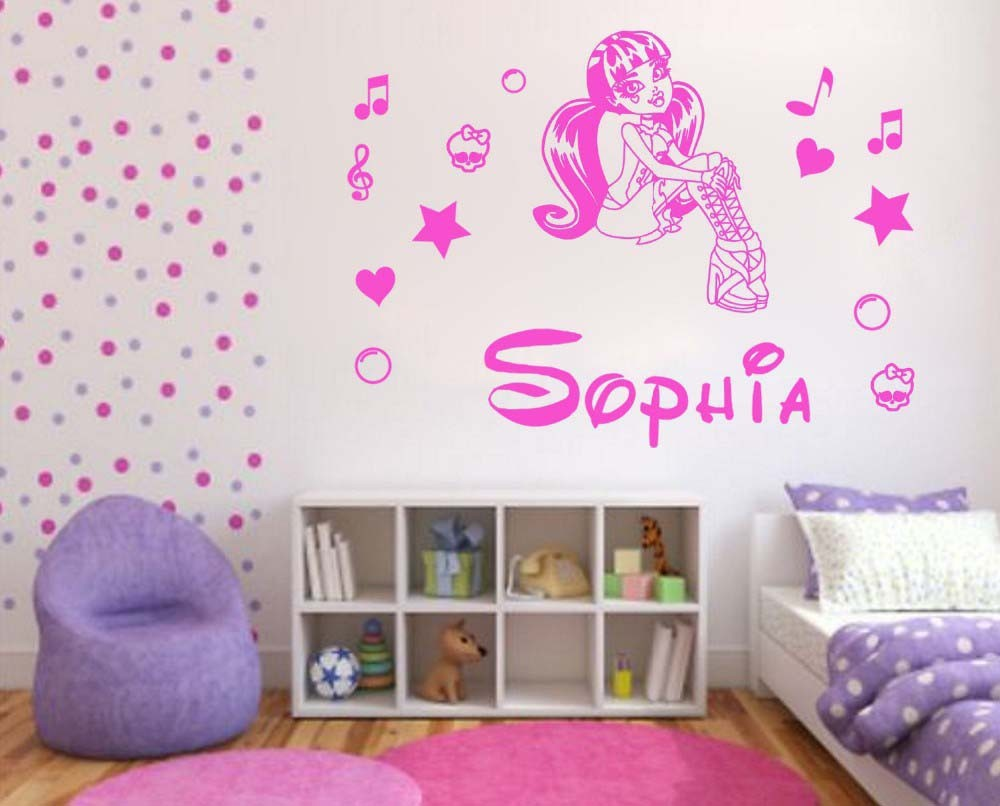 Monster High Wall Decor popular children sticker wall-buy cheap children sticker wall lots