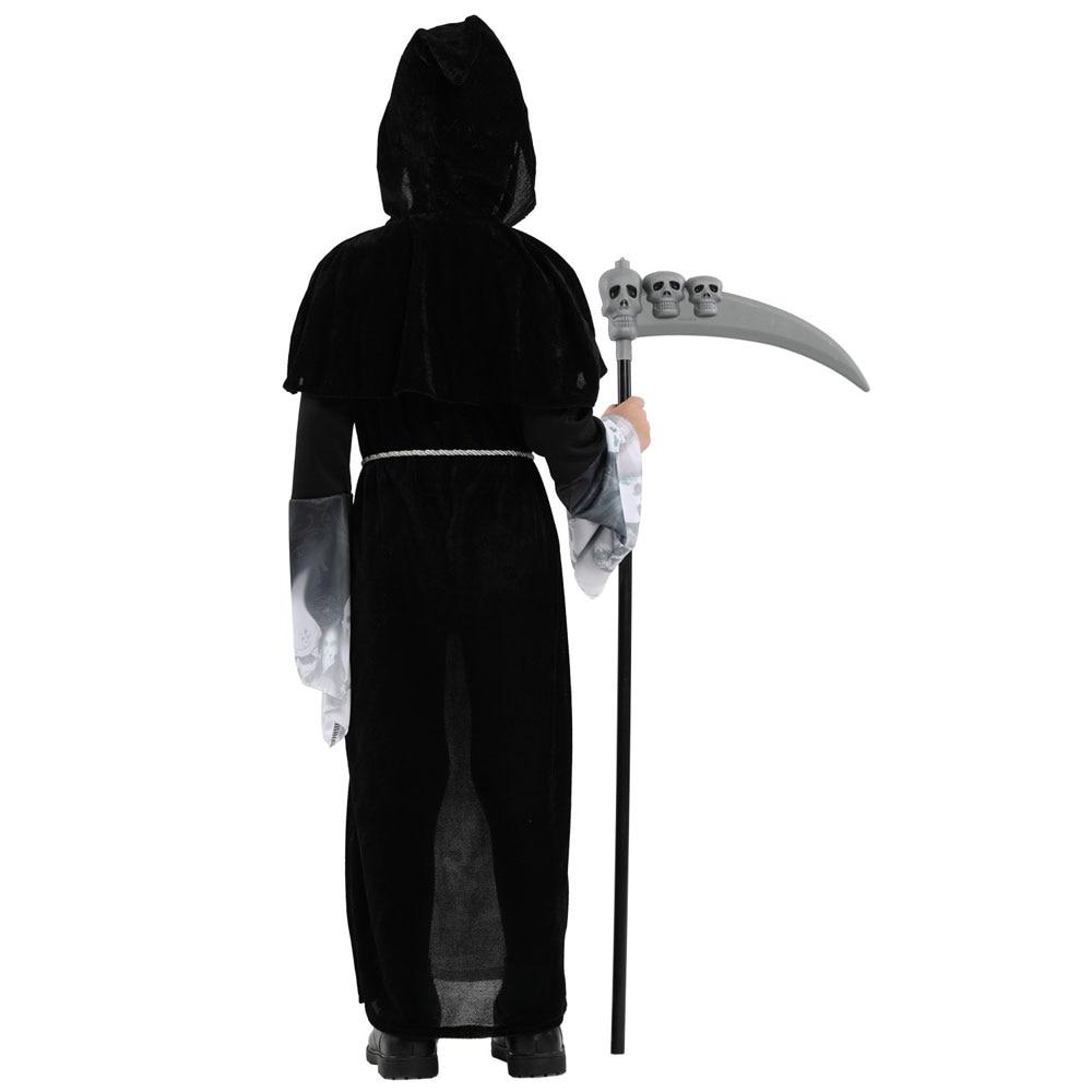 Boys Grim Reaper Halloween Costume 4