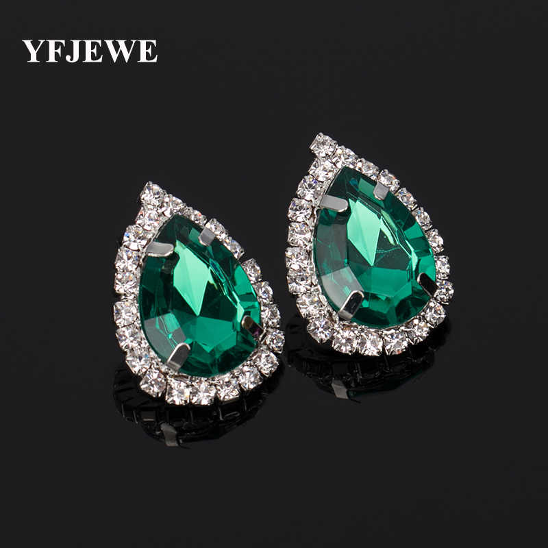 YFJEWE Fashion Jewelry Women Party Accessories stud earring female fashion  accessories large rhinestone sexy vintage   e57a2ad12cb8