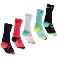Men CoolMax Cycling Sport Socks calcetines ciclismo Basketball Running mountain , MTB Road Bike Bicycle Cycling Socks For Women