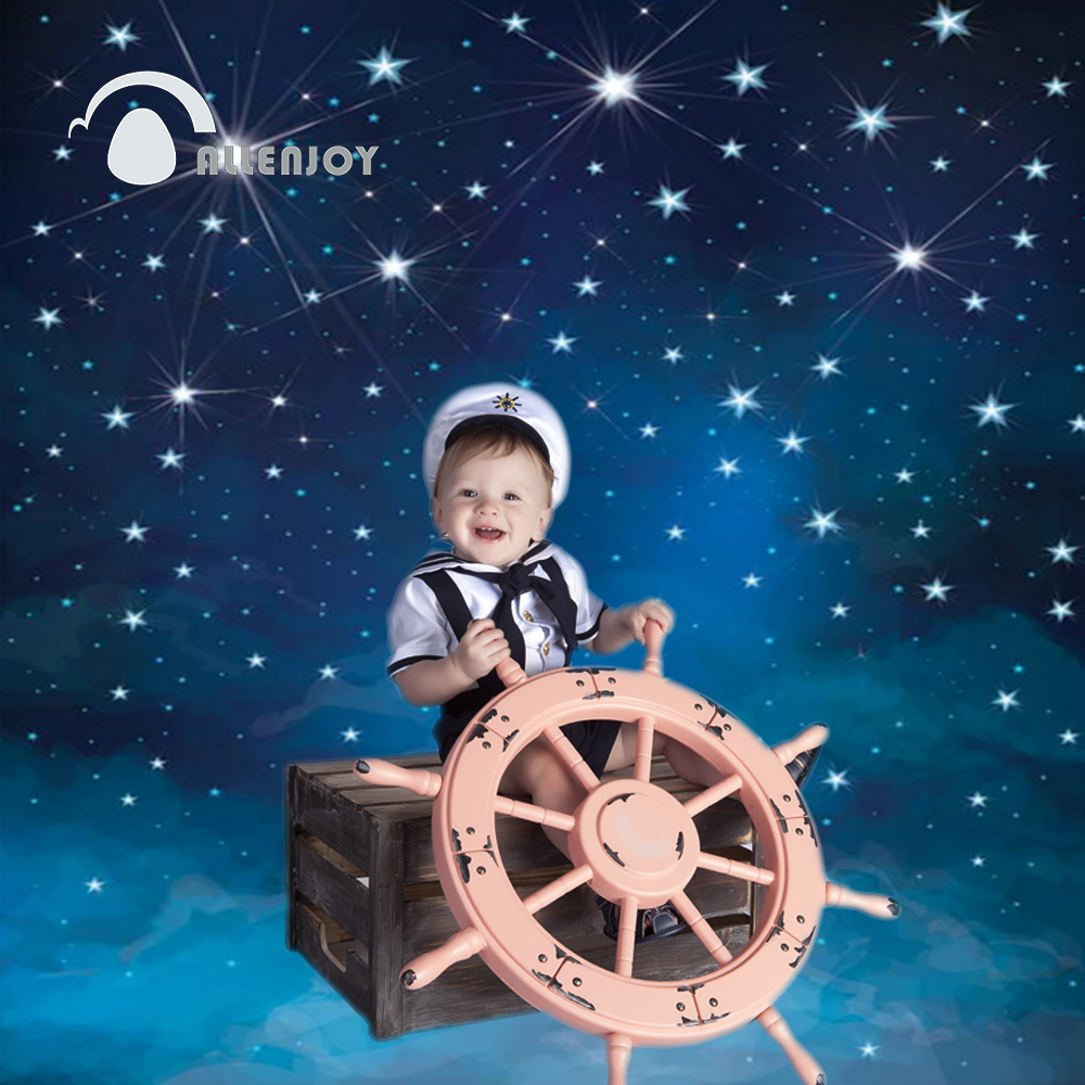 Allenjoy photographic background Space blue stars shine photo backdrops for sale photography fantasy fabric vinyl photocall allenjoy photographic background color purple red stars kids vinyl photo studio photography backdrops lovely