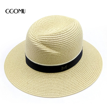 f0c3d9541aa Buy fedora hat women black straw and get free shipping on AliExpress.com