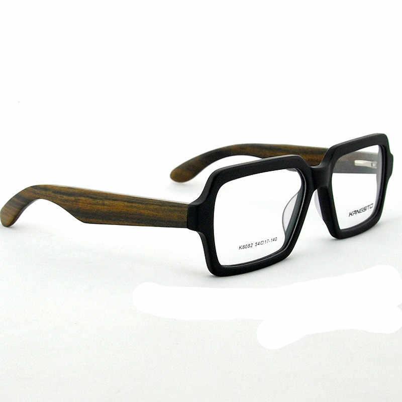 59506930e6 Coyee New Optical. Glasses Frame Myopia Eyeglasses Handmade Retro Rosewood Women  Men Full-rim
