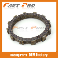 Clutch Disc Friction Plates Set 7pcs for SUZUKI SV400 98 05 VL400 VZ400 SV650 VS750 VS700 VL800 C50 VS800 VX800 VZ800 VL1400
