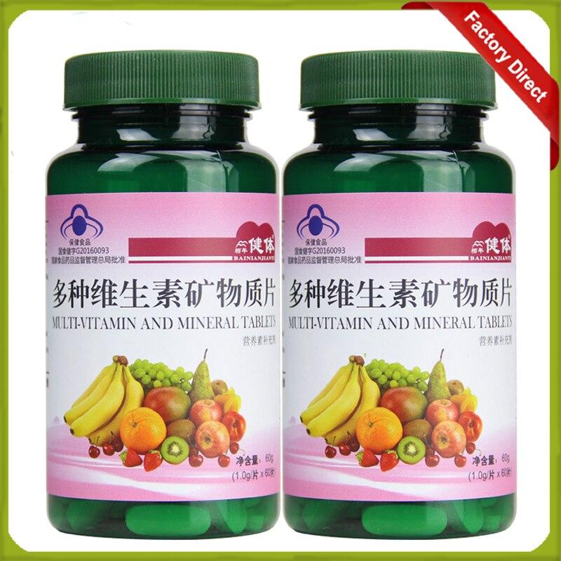 suplemen vitamin dan mineral beberapa