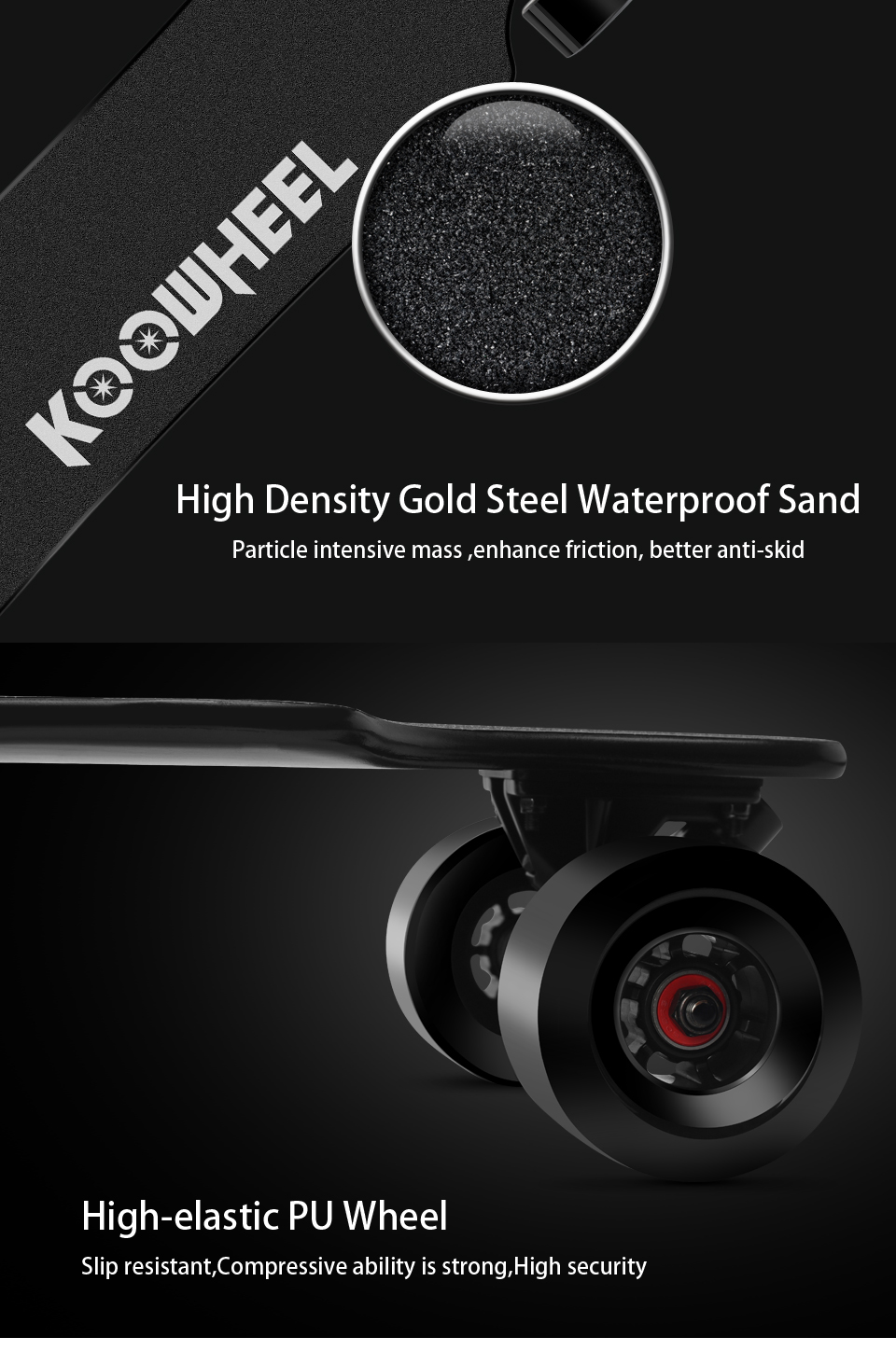 Koowheel Longboard Newest D3M+ Electric Skateboard 4 wheels Electric Hoverboard with Updated Remote Controller and Hub Motor (7)