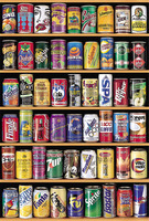 Cans jigsaw picture puzzles 1000 pieces educational wooden toys for adults children kids games