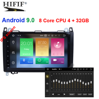 DSP IPS Android 9.0 4G Car GPS For Mercedes Benz Sprinter B200 B class W245 B170 W209 W169 radio stereo no dvd player