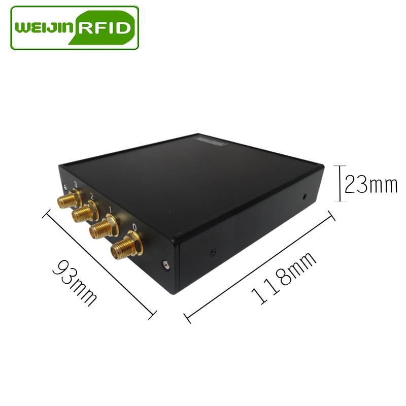 UHF RFID fast läsare 915MHz 4 antennport VIKITEK VFR4 - Säkerhet och skydd - Foto 3