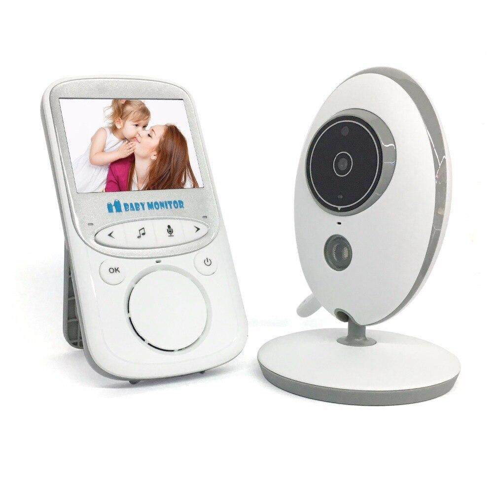 Moniteur de bébé sans fil d'interphone d'affichage de température d'alarme de bébé de 2.4 pouces