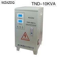 Voltage regulator 10KW air conditioning TND 10KVA audio 10000W automatic ac single phase voltage stabilizer power supply