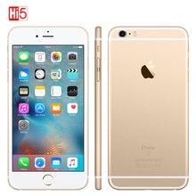 هاتف Apple iPhone 6S plus مفتوح بذاكرة وصول عشوائي 2 جيجا بايت وذاكرة قراءة فقط 16 جيجا بايت/64 جيجا بايت وشاشة 5.5 بوصة وكاميرا 12.0 ميغا بيكسل يعمل بنظام iOS LTE بشريحة واحدة ثنائي النواة هاتف ذكي