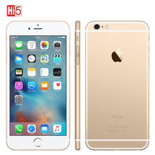 """Apple teléfono inteligente iPhone 6S plus libre, smartphone con 2GB de RAM, 16GB/64GB de ROM, pantalla de 5,5 """", cámara de 12.0MP, iOS, LTE, reconocimiento de huella dactilar, sim única, Dual Core"""