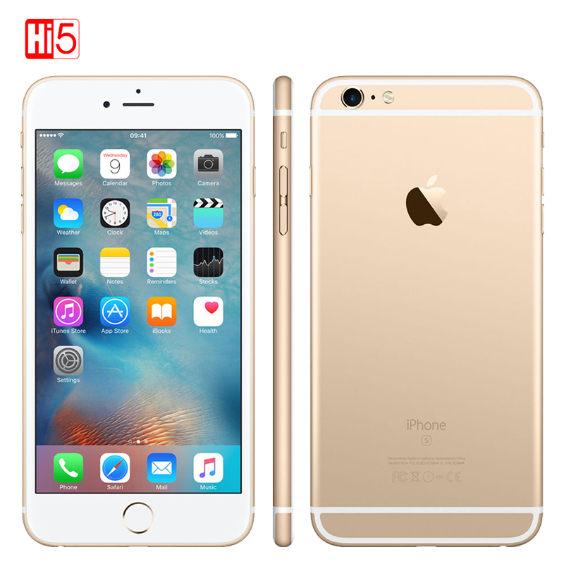 "Entsperrt Apple iPhone 6S plus 2GB RAM 16 GB/64 GB ROM 5,5 ""display 12.0MP iOS LTE fingerprint Einzelne sim Dual Core smartmobile"