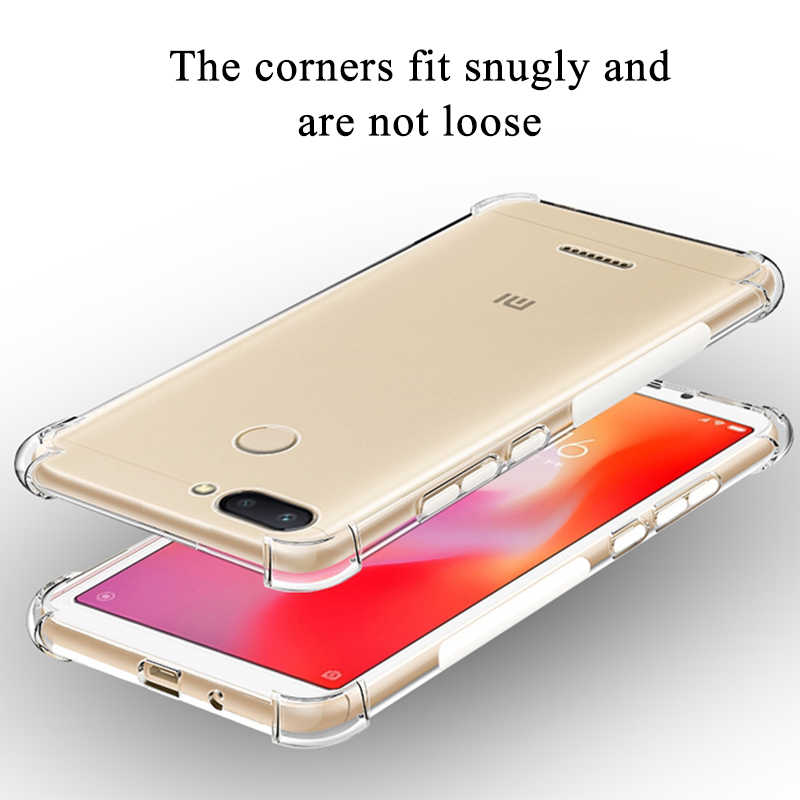 واضح سيليكون حالة ل XiaoMi XioMi مي 10 لايت A1 A2 A3 RedMi 8A 8 7A 6A 5A K30 K20 للصدمات حالة Redmi ملاحظة 9 9S برو 8 7 6