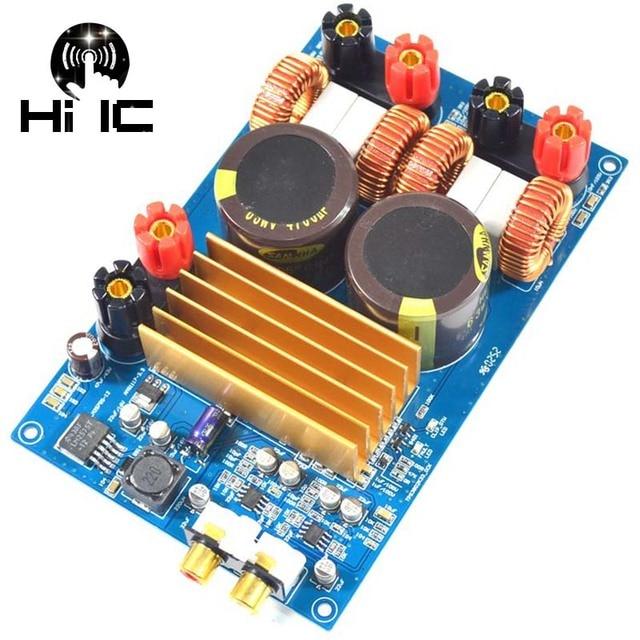 Yüksek Kalite Sınıf D TPA3255 HIFI SES Dijital Amplifikatör Kurulu Haneli Güç AMP Devre Modülü 300 W + 300 W DC 48 V