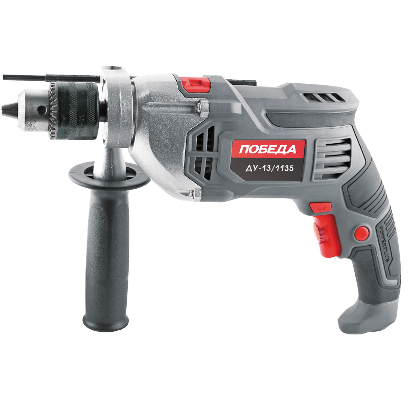 Impact drill VICTORY REMOTE CONTROL-13/1135 (1135 W speed from 0 to 3000 rpm, reverse) machine drill sturm bd7045 power 450 w cartridge from 0 to 16mm speed from 280 to 2350 rpm