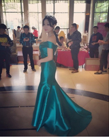 Real Picture New Princess Style Sweetheart Beading Poffy Ball Gowns Front Short Back Long Aquamarine Prom