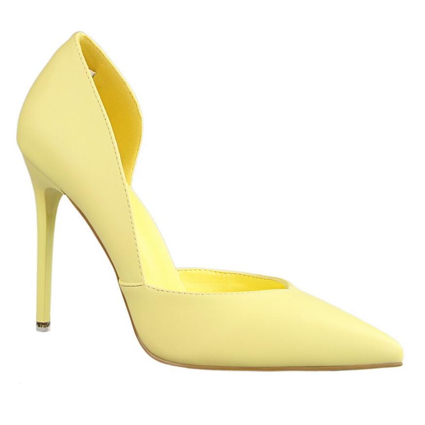 BIGTREE Brand Women Shoes Fashion PU Women <font><b>Pumps</b></font> Superstar Style High Heels Shoes Woman Two Piece Sexy Work Shoes Women Stiletto