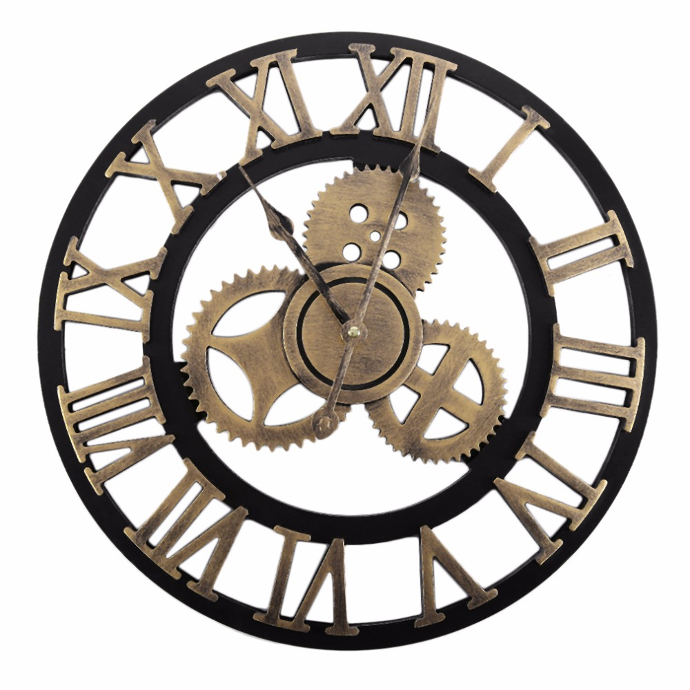 Online Buy Wholesale large industrial wall clocks from China large