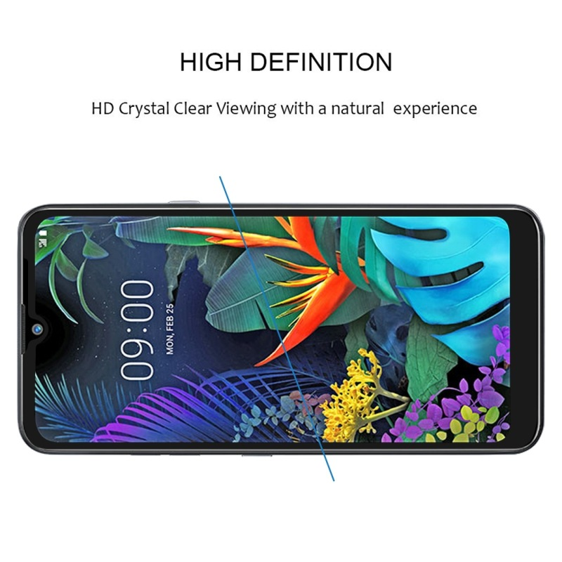 Image 5 - Full Tempered Glass on the for LG Q60 Q6 Q 60 6 safety protective glass for LG q6 lgq6 M700N lgq60 screen protector 9H glas film-in Phone Screen Protectors from Cellphones & Telecommunications