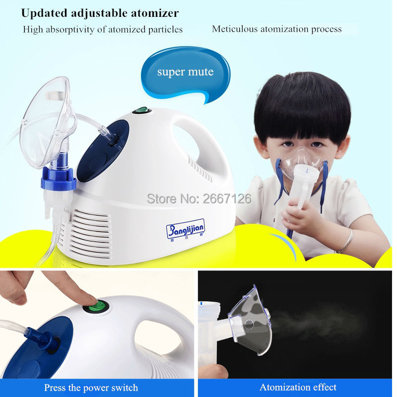 Compressor Nebulizer JLN-2304AS for Children Adult Allergy relief adjuvant therapy asthma,pneumonia,respiratory free shipping comfort on call allergy relief cream интенсивный питательный крем
