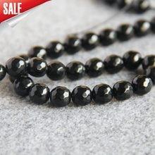 284cb84cd1ef Para collar pulsera 10mm Onyx facetado Semi acabado piedras regalo bolas  granos flojos redondos DIY Carnelian 15 pulgadas joyerí.