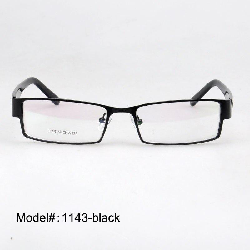 1143 הגעה לניו אופנה אופטי מסגרות של אדם מתכת משקפיים קוצר ראייה משקפי מרשם משקפיים.