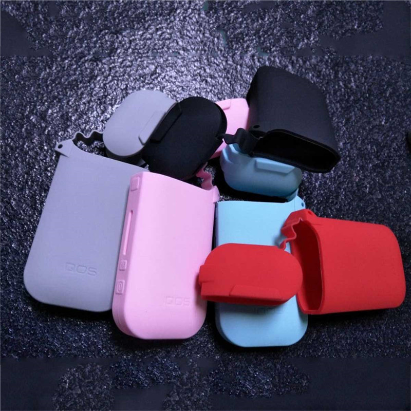 10 Colors Soft Hand Feel Thicker Case for IQOS 2.4 Plus Silicone Case Sleeve Protective Electronic Cigarette Case Cover nintendo 2ds fashion color protective silicone soft case cover skin six colors