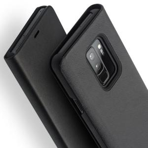 Image 5 - QIALINO Genuine Leather Flip Case for Samsung Galaxy S9 Fashion Luxury Ultrathin Stents Phone Cover for Samsung S9+ Plus 6.2inch