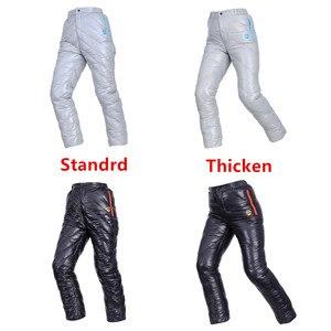 Image 3 - AEGISMAX Unisex 95% Beyaz Kaz Aşağı Pantolon Açık Kamp Pantolon Su Geçirmez Sıcak Kaz Tüyü Pantolon 800FP