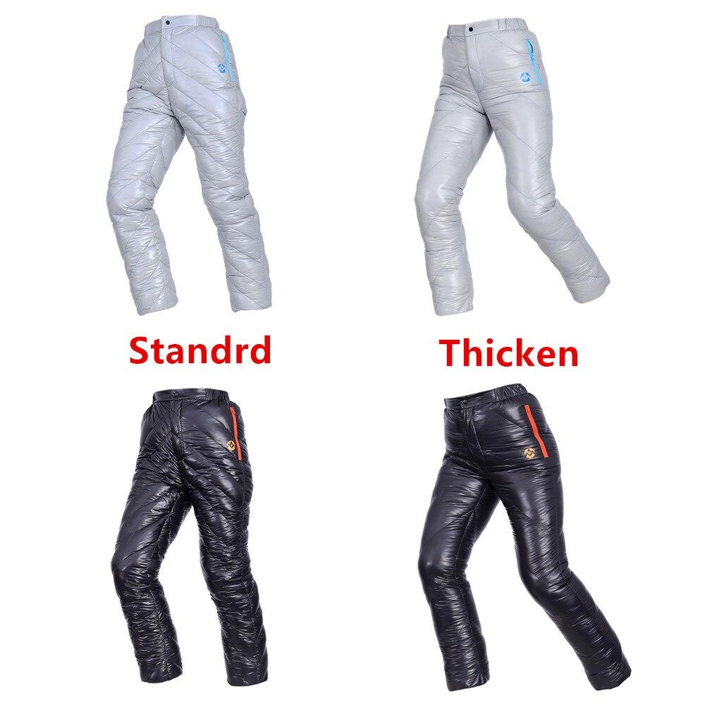 AEGISMAX Unisexe 95% Duvet d'oie Blanche Pantalon En Plein Air de Camping Pantalon Étanche Oie Chaud Vers Le Bas Pantalon 800FP - 3