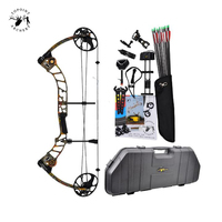 11 Color T1 Compound Bow 17 70 Lbs Draw Weight 19 30 Inches Draw Length 320fps IBO Archery Equipment for Shooting