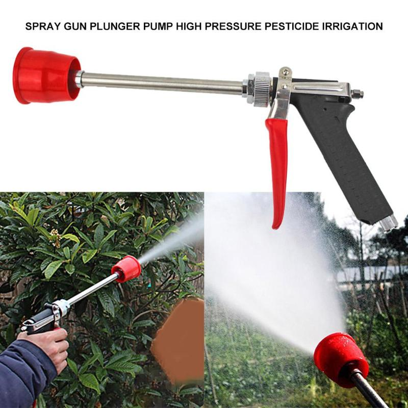 Landwirtschaft Zerstäubung Düse Spritzpistole Garten Hof Bewässerung Sprinkler Hohe-druck power spray gun perfekte auto waschen