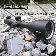 Minox ZA 5i HD 5-25X56 SFIR линзы с многослойным покрытием оптические прицелы со стеклянной гравированной Reicle боковой Parallax оптический прицел туррты Блокировка сброса
