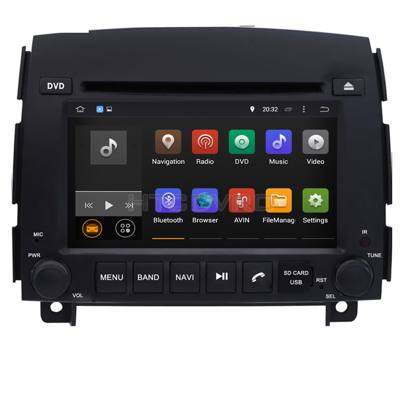 Redelijk Ymodvht 6.2 Inch 4g Octa Core Android 8.0 7.1 Car Dvd-speler Voor Hyundai Sonata Nf Yu Xiang 2006 -auto Radio Audio Video Stereo