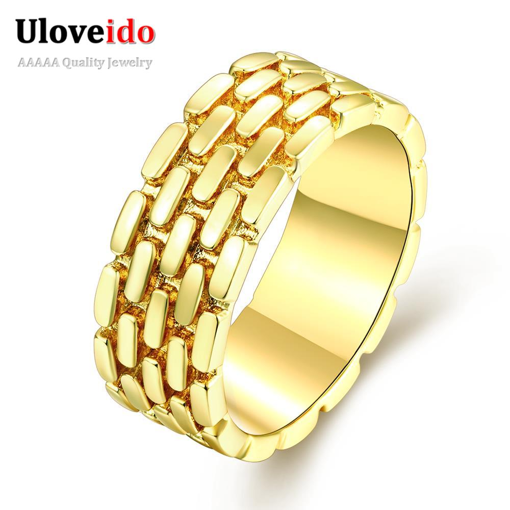 online shopping 3 colors woman yellow rings for party brithday gift 2016 fashion trendy ladies cheap - Cheap Wedding Rings Online