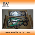 For Nissan forklift engine parts H15 H20 H25 full gasket kit/overhauling gasket/compelete gasket