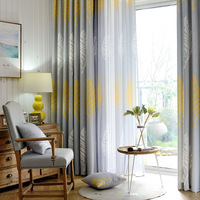 American Country Style Curtains For Living Dining Room Bedroom