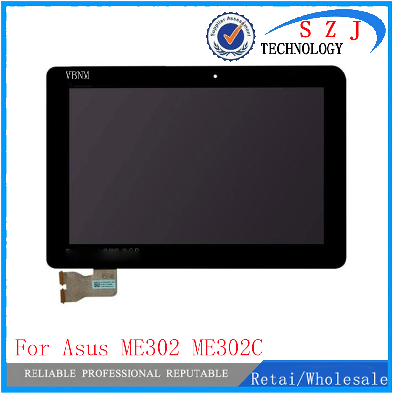 New 10.1'' inch for ASUS MeMO ME302 ME302C ME302KL K005 K00A 5425N lcd screen display touch with frame Free Shipping original high quality black touch screen digitizer for asus memo pad fhd 10 me302 me302c k005 me302kl k00a 5425n fpc 1