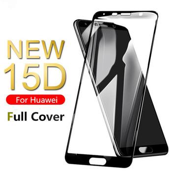 Szkło hartowane 15D na Huawei Mate 10 20 Lite pro ochraniacz ekranu na P20 P10 Plus P30 P40 lite E P20 p30 lite pro szkło tanie i dobre opinie KINGZALIN TEMPERED GLASS CN (pochodzenie) Przedni Film P9 lite P8 Lite Mate9 P8 Lite 2017 P10 Lite Black White New 15D Glass for Huawei