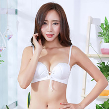 16ae4ad0ba Mozhini shell finger shape palm cup lady brassiere t shirt seamless push up  bra