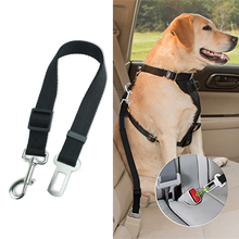 цены Dog Seatbelt Safety Seat Belt Strap for Dogs Durable Adjustable Seatbelt Pet Cat Dog Restraint for Car Vehicle Travel