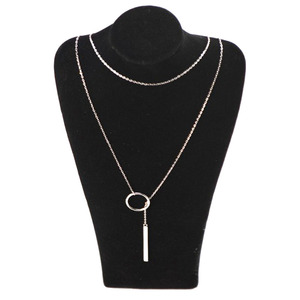 Image 4 - Vermelho árvores marca real 925 prata, joia fina estilo novo 90 cm longo colar de prata para mulheres