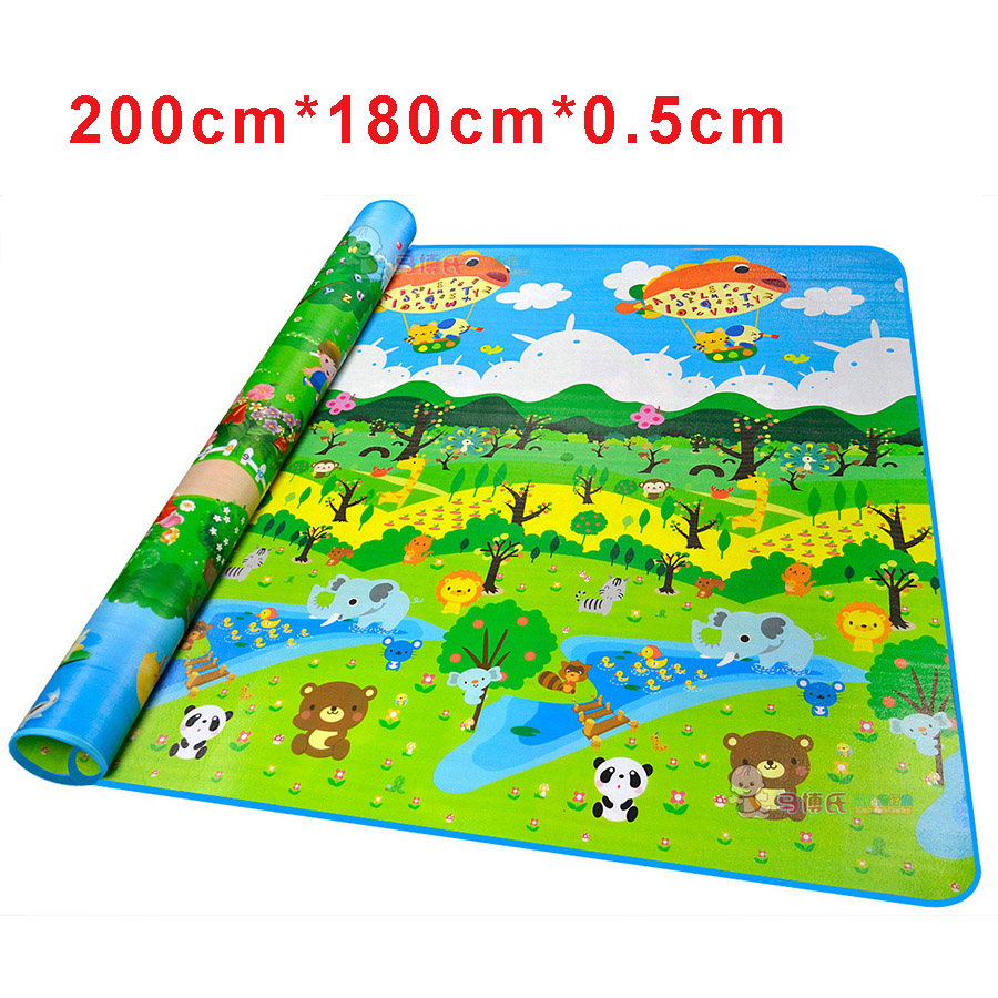 Baby Playmat Children Carpet Large Baby Play Mat Infant
