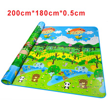 Qimonton Playmat Large Baby Play Mat Infant Rug For Kids
